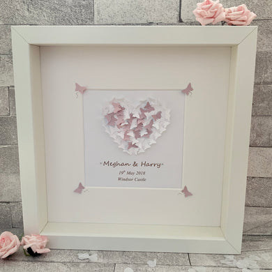 Butterfly Wedding Frame