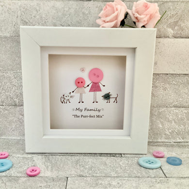 Ladies and Pets Mini Frame