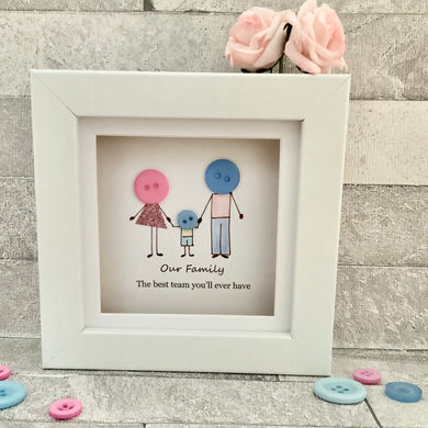 Family Of Three Mini Frame