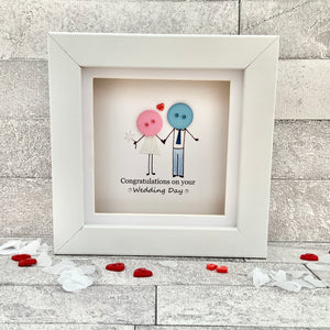 Congratulations On Your Wedding Day Mini Frame