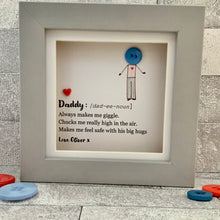 Load image into Gallery viewer, Dad Definition Personalised Mini Frame