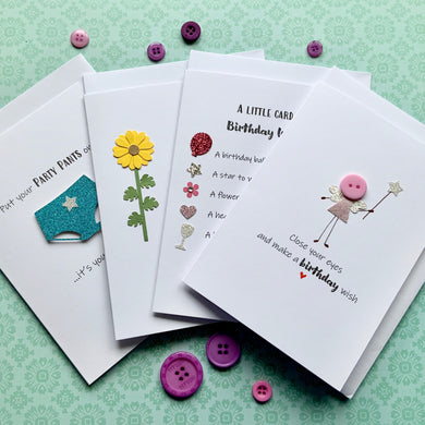 Female Birthday Bundle Pack of Four Cards