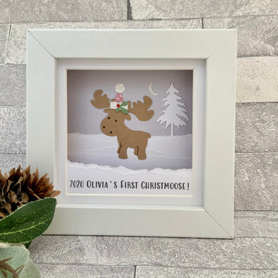 First Christmoose Mini Frame