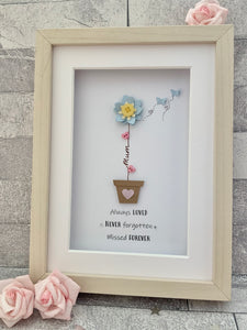 Forget-Me-Not Frame