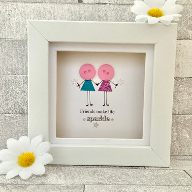 Friends Make Life Sparkle Mini Frame