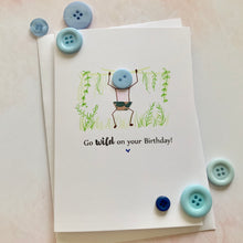 Load image into Gallery viewer, Go Wild on your 30th  Birthday Card