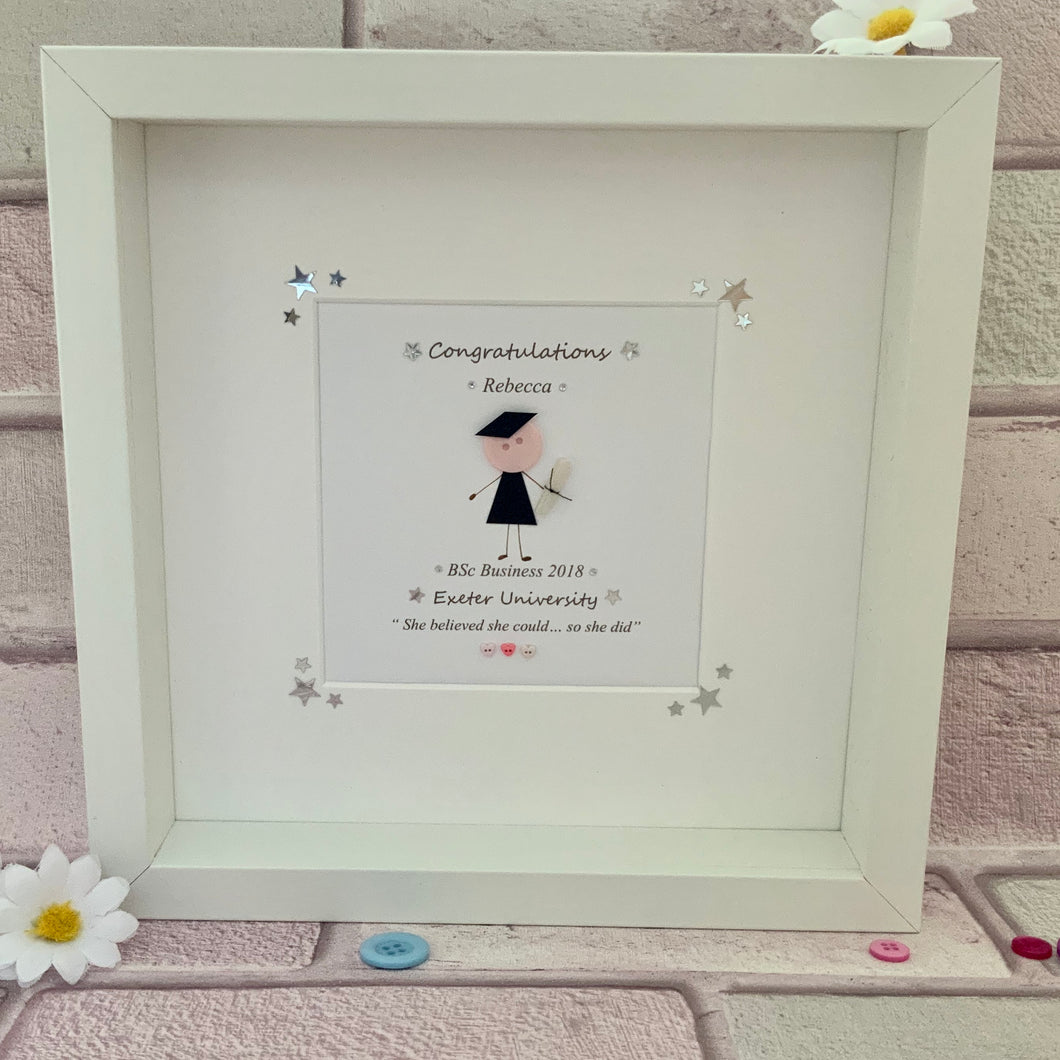 Personalised Graduation Frame Made By Jennie