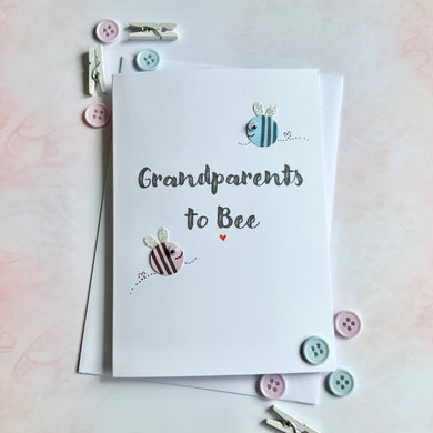 Grandparents To Bee Card