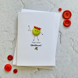 Ha-Pea Christmas- Personalised