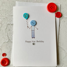 Load image into Gallery viewer, Happy 21st Birthday Card