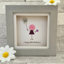 Load image into Gallery viewer, Happy 90th Birthday Mini Frame