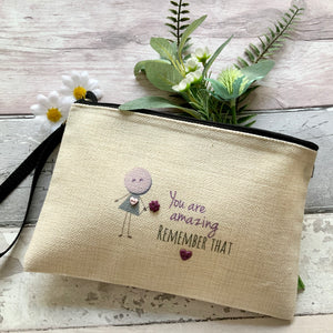 """You Are Amazing"" Large Bag With Handle"