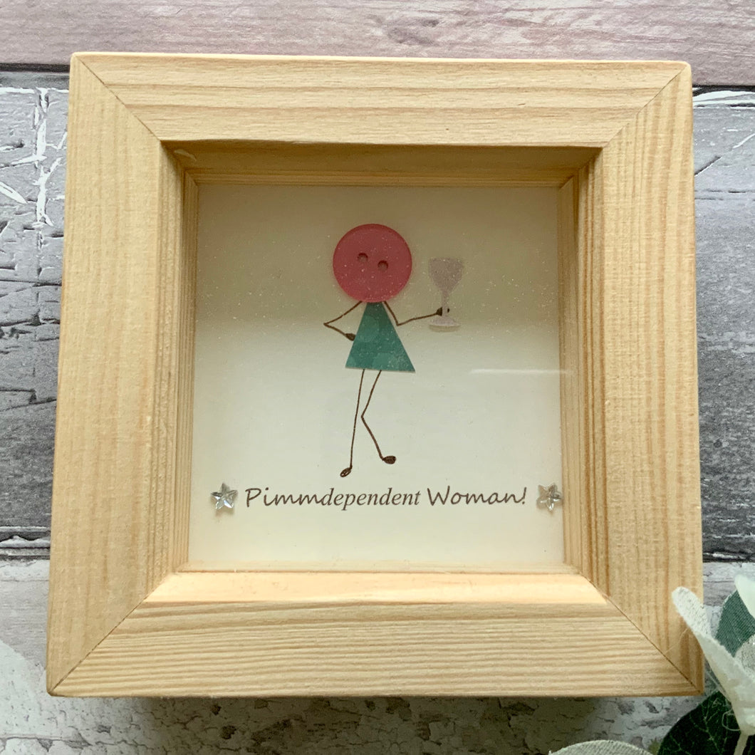 Pimm-dependent Woman Mini Frame