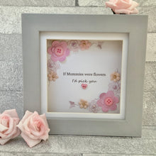 Load image into Gallery viewer, If Mummies Were Flowers Floral Mini Frame