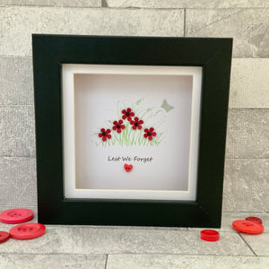 Lest We Forget Mini Frame