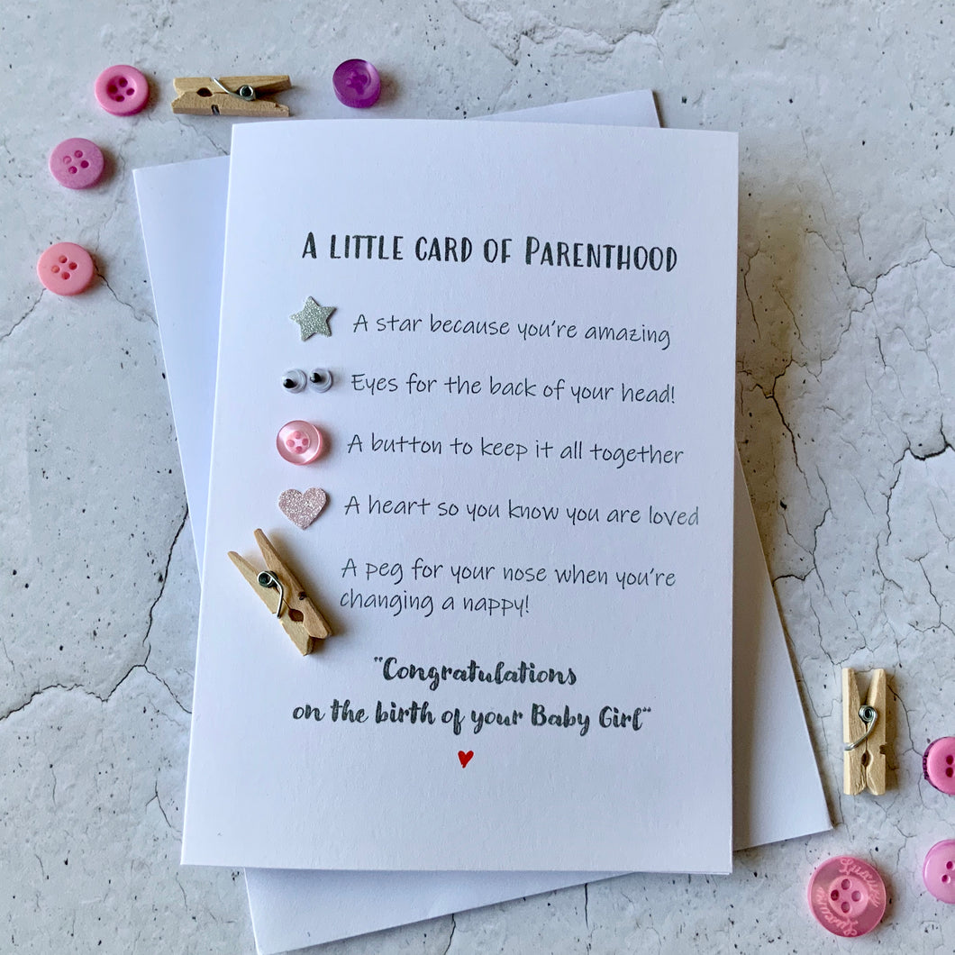 Little Card Of Parenthood