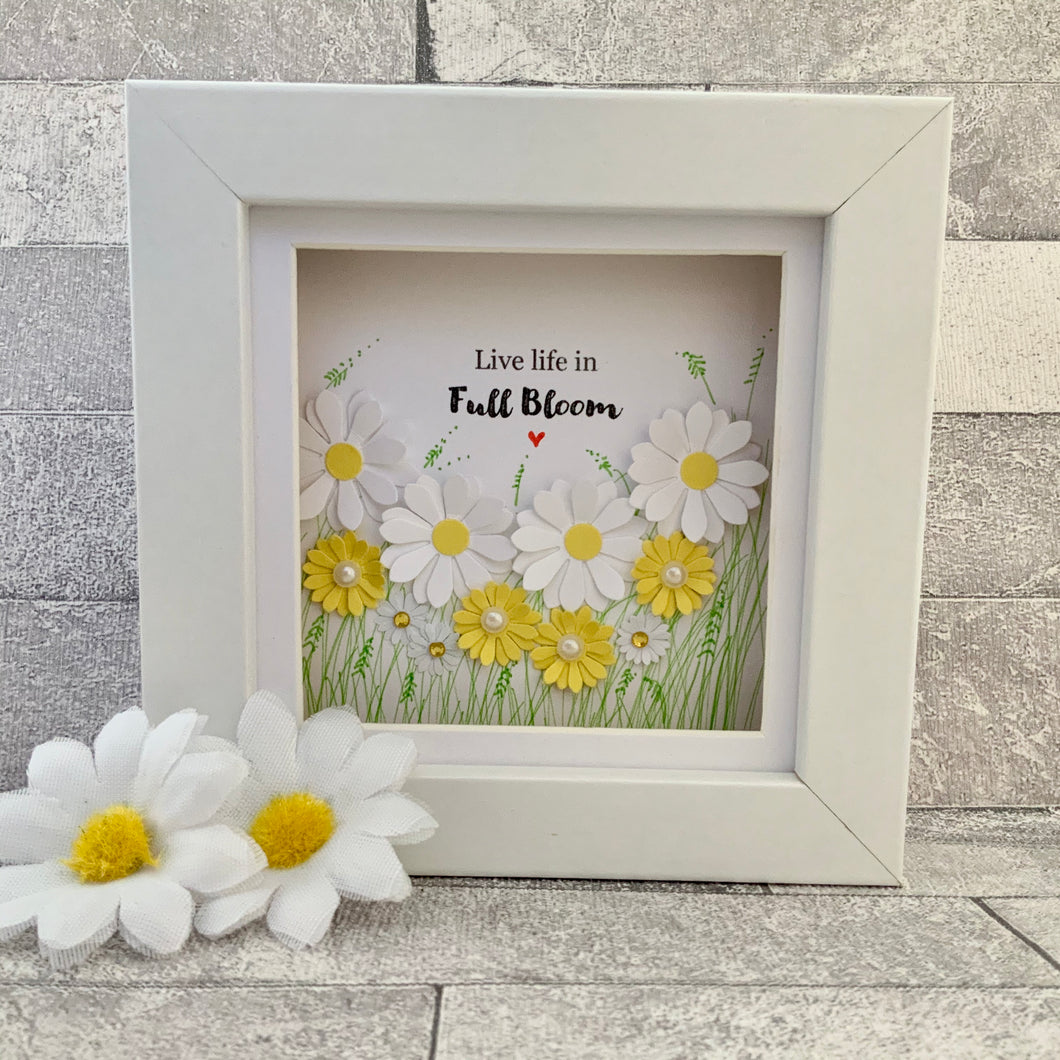 Live Life In Full Bloom Mini Frame