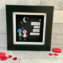 Load image into Gallery viewer, Love You To The Moon & Back Mini Frame