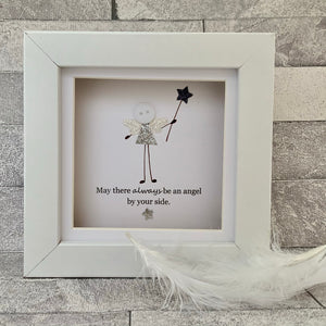 May There Always Be An Angel Mini Frame
