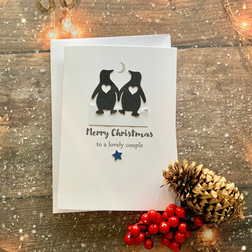 Merry Christmas To A Lovely Couple Card