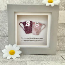 Load image into Gallery viewer, Our Friendship Is Like A Cup Of Tea Mini Frame