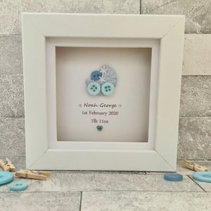 New Baby Personalised Mini Frame
