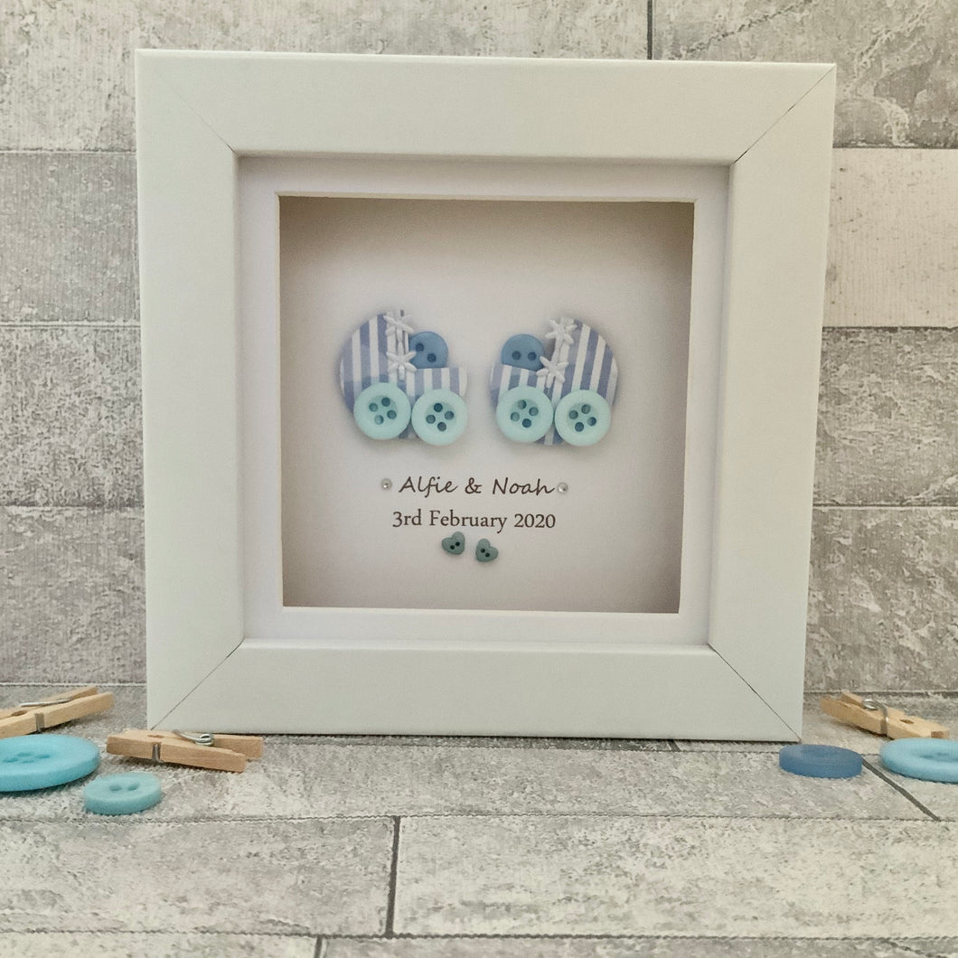 Twins Personalised Mini Frame