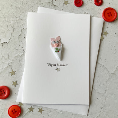 Pig In Blanket Card
