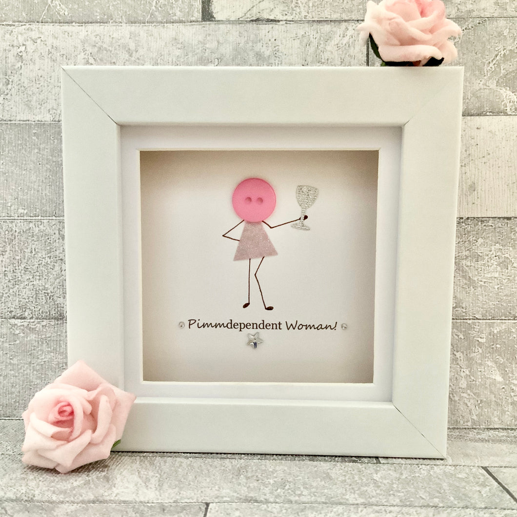 Pimmdependent Woman Mini Frame