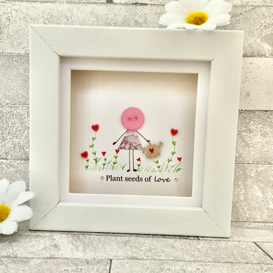 Plant Seeds Of Love Mini Frame