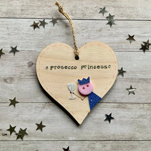 Prosecco Princess Heart