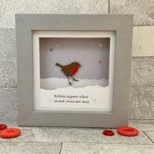 Load image into Gallery viewer, Robins Appear Snow Mini Frame