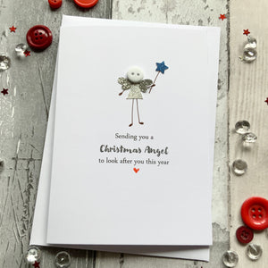Sending You A Christmas Angel- Personalised