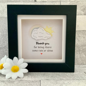 Thank You For Being There Frame