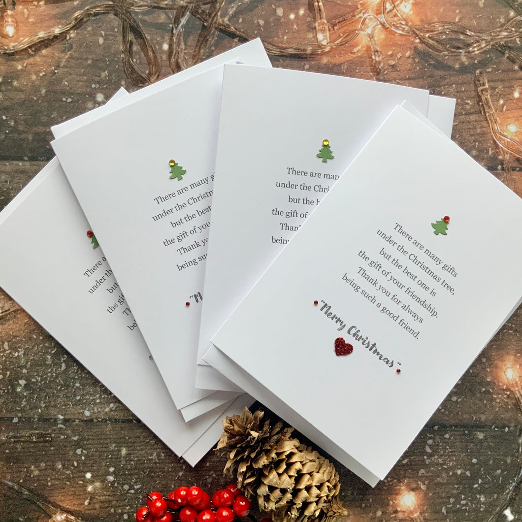 There Are Many Gifts Pack of Four Christmas Cards