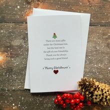 Load image into Gallery viewer, There Are Many Gifts Pack of Four Christmas Cards