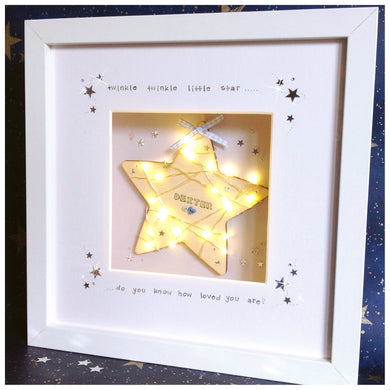 Nursery Light up Frame