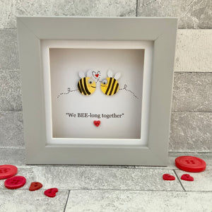 We Bee-Long Together Mini Frame