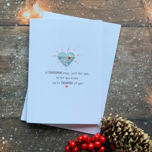A Christmas Hug Card