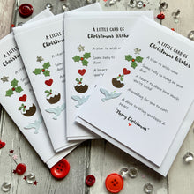 Load image into Gallery viewer, Little Card of Christmas Wishes (Non-Alcoholic) Pack of Four Christmas Cards