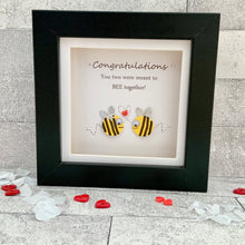 Load image into Gallery viewer, Congratulations You Two Were Meant To Bee Together Mini Frame