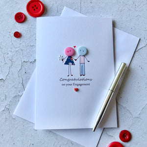 Congratulations On Your Engagement - Personalised