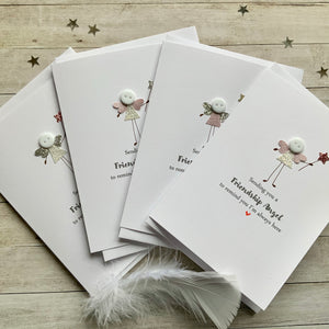 Friendship Angel Pack of Four Cards