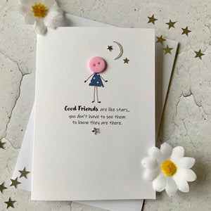 Good Friends Are Like Stars - Personalised