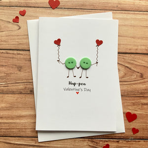 Ha-Pea Valentines Day  Card