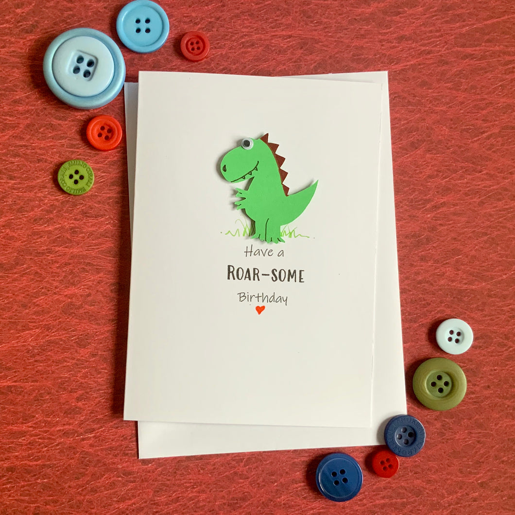Have a Roarsome Birthday- Personalised