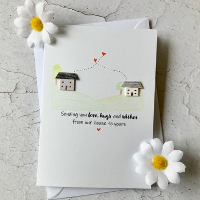 Sending You Love, Hug And Wishes Card