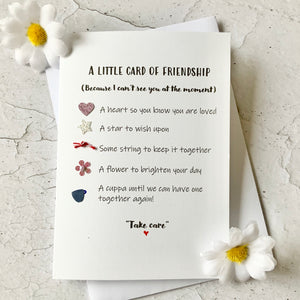 Little Card Of Friendship (non-alcoholic)- Personalised