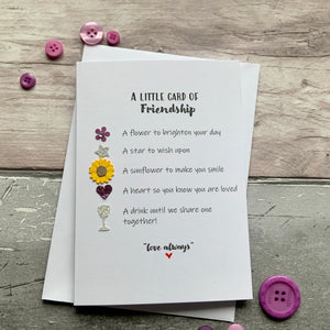 Cards Of Loveliness/Friendship Super Pack of Ten Cards