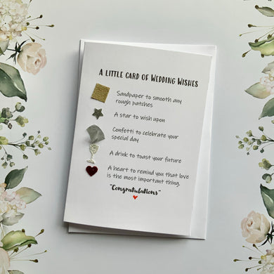 Little Card of Wedding Wishes